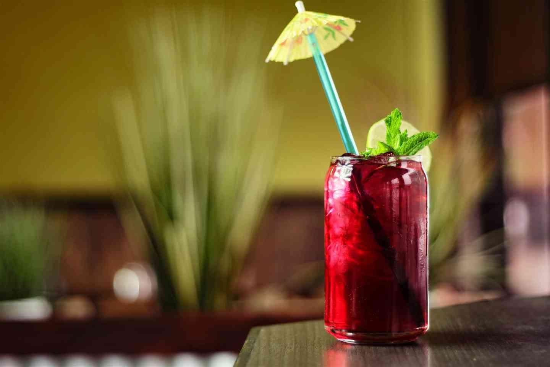 Hibiscus Ice Tea Sparkler 洛神花茶