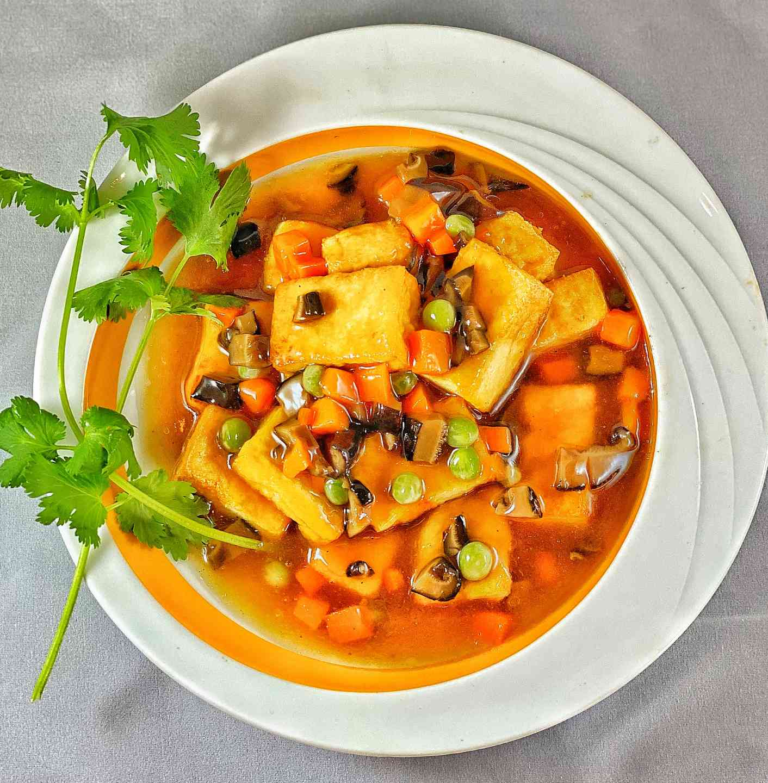 Braised Tofu 紅燒豆腐