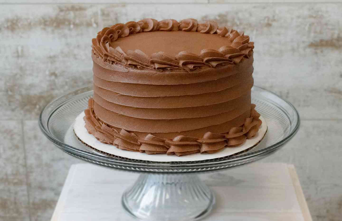 Gluten Friendly Yellow Cake: Chocolate Buttercream or Vanilla Buttercream