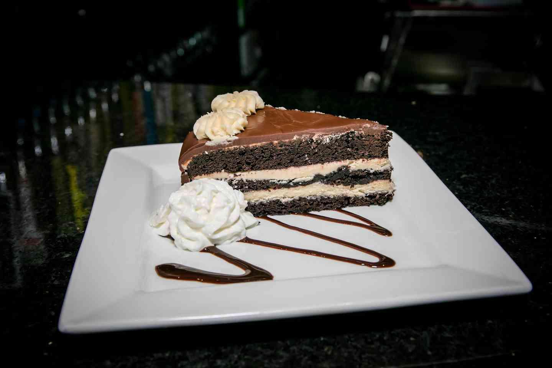 Chocolate Ganache Guinness Cake