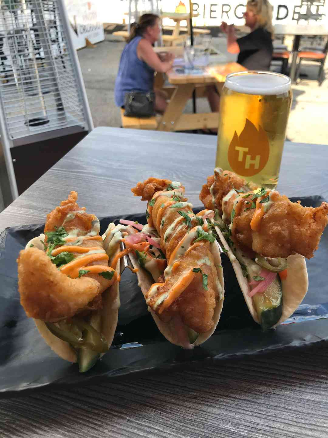 FRIED HADDOCK TACOS