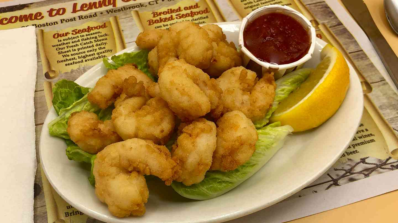 Fried Gulf Shrimp Appetizer