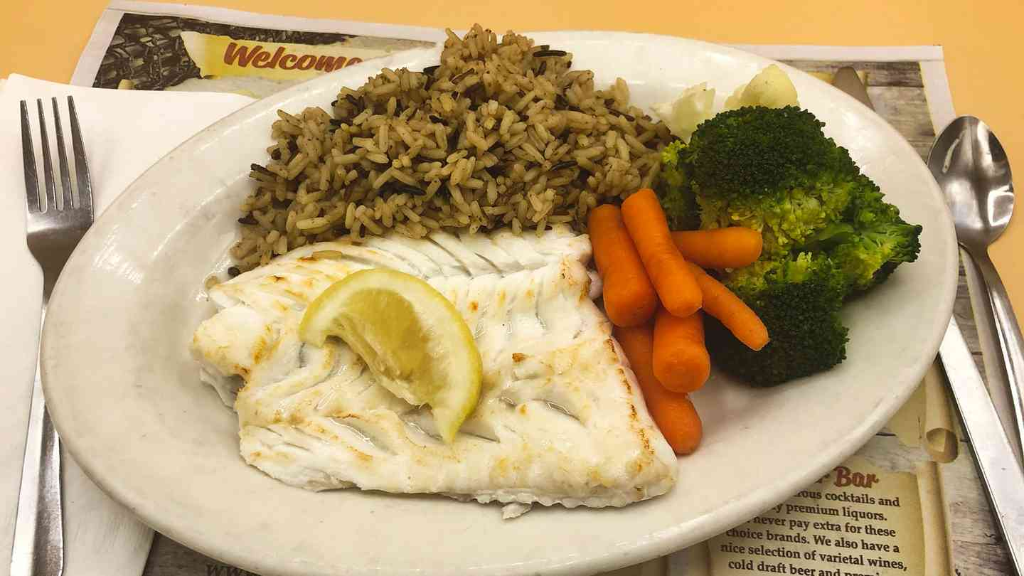 Light & Healthy Broiled Fresh Scrod