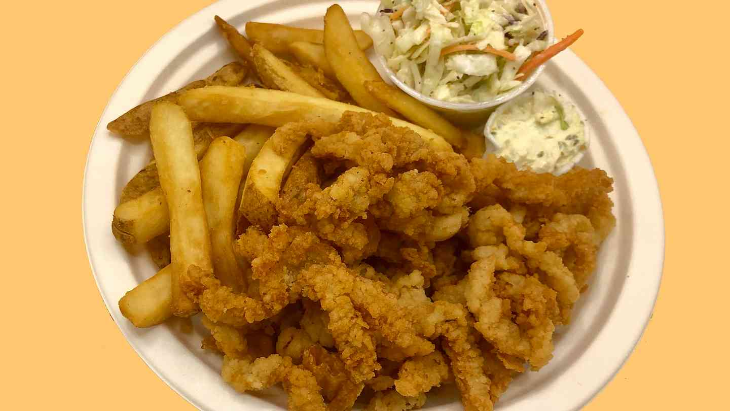 Fresh Fried Clam Strips