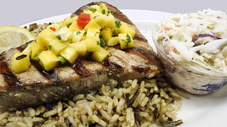 Charbroiled Fresh Tuna Steak*