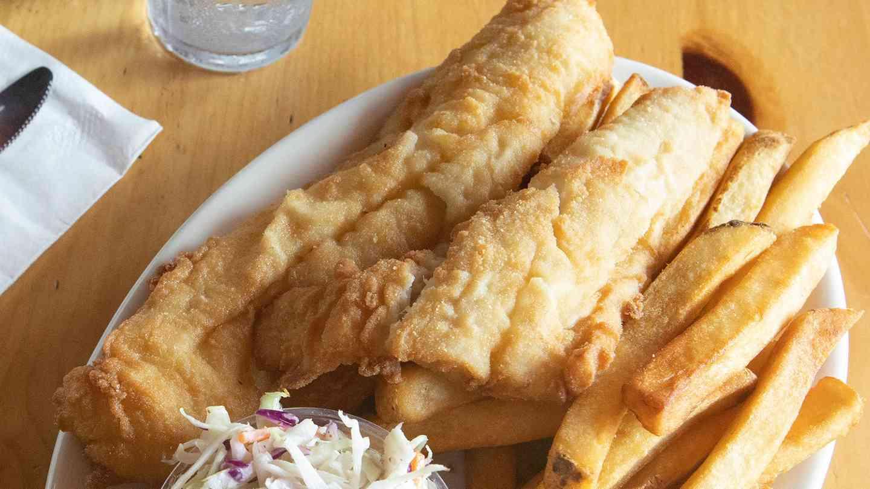 Fresh Fried Haddock