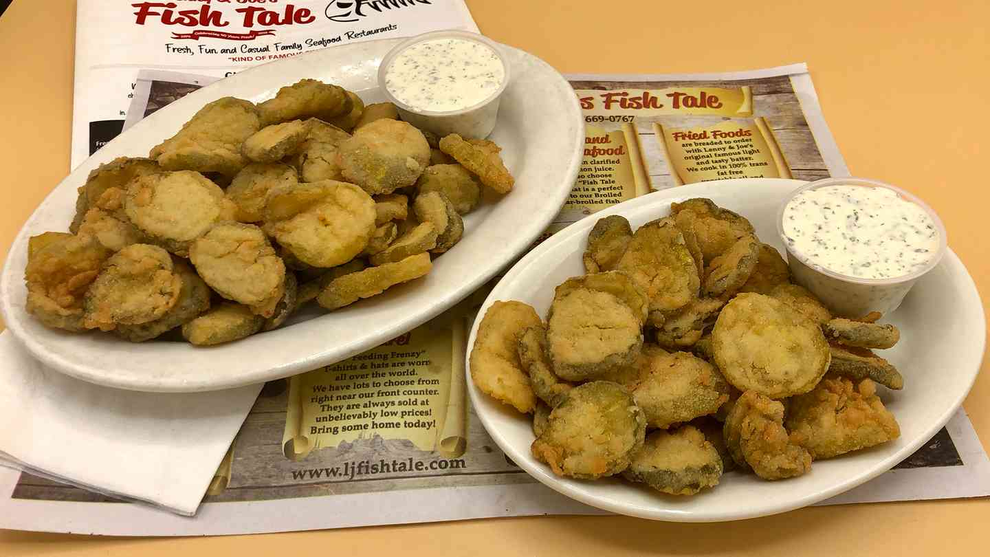 Fried Bread & Butter Pickles