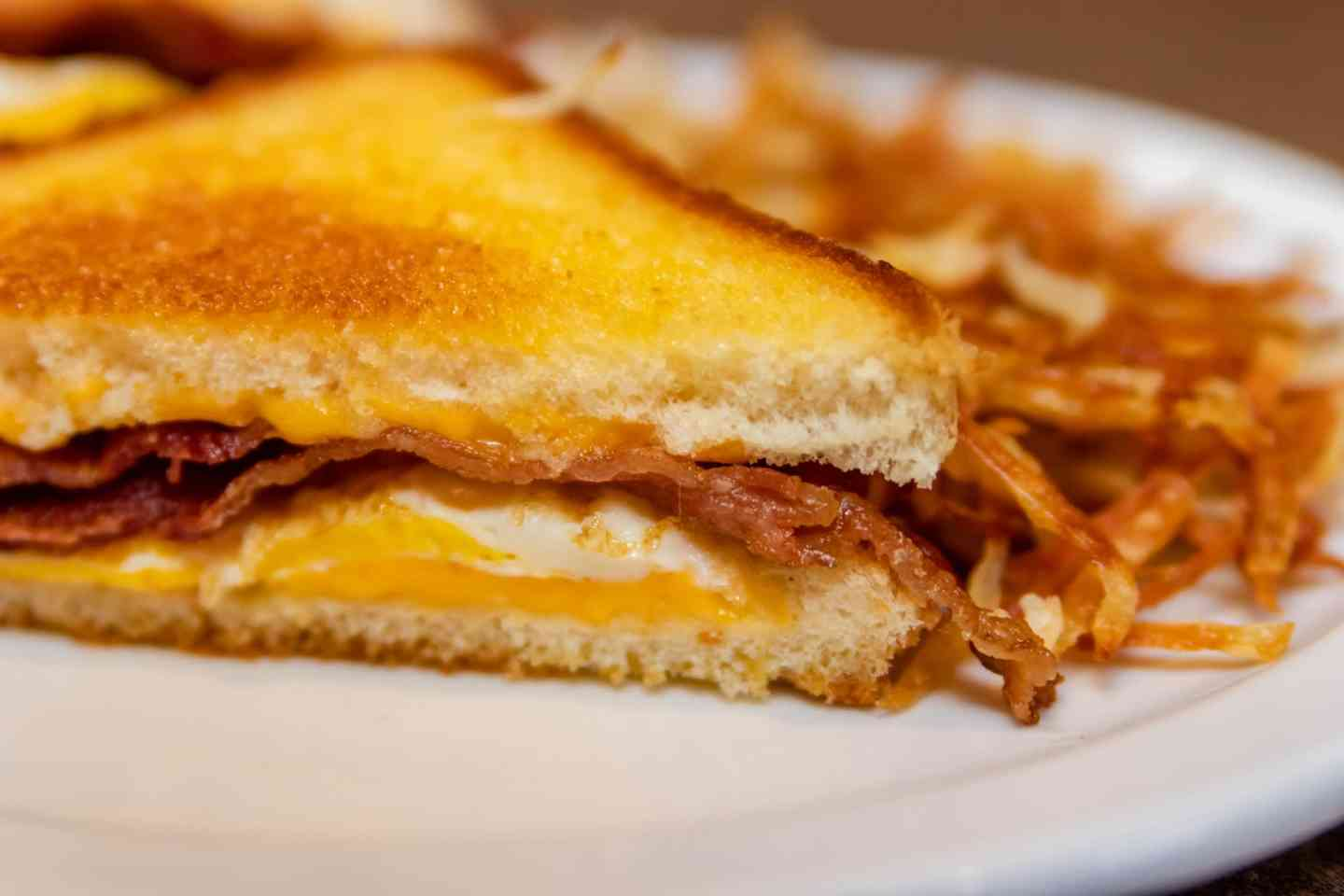 Grilled Breakfast Sandwich