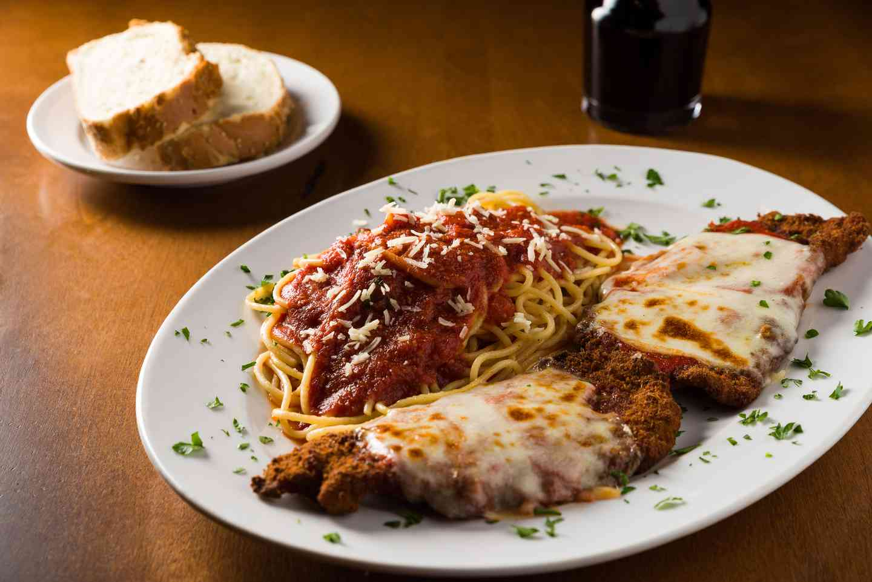 Veal Cutlet Parmesan