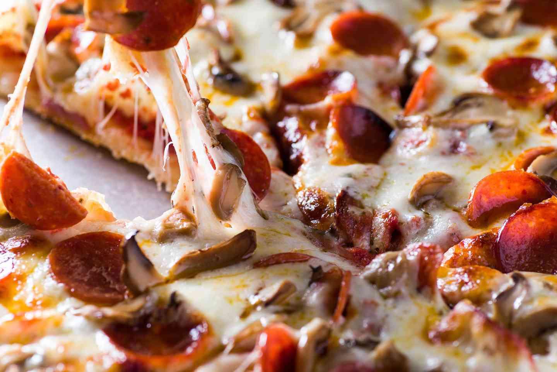 #4 1/2 Sheet Pizza & Tender Combo