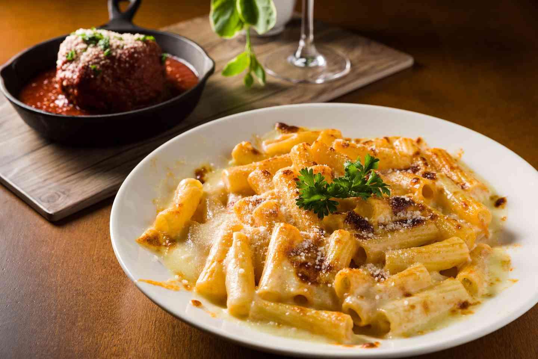 Rigatoni Parmesan