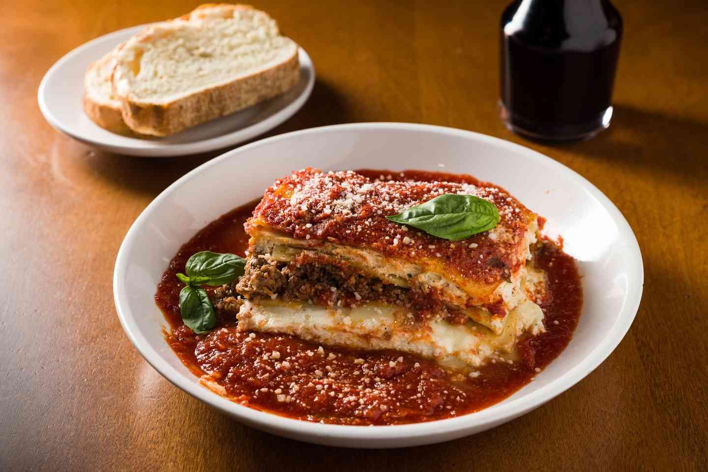 Homemade Baked Lasagna