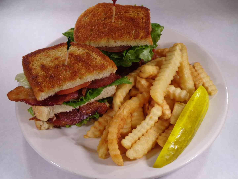 Bacon Lettuce and Tomato Club