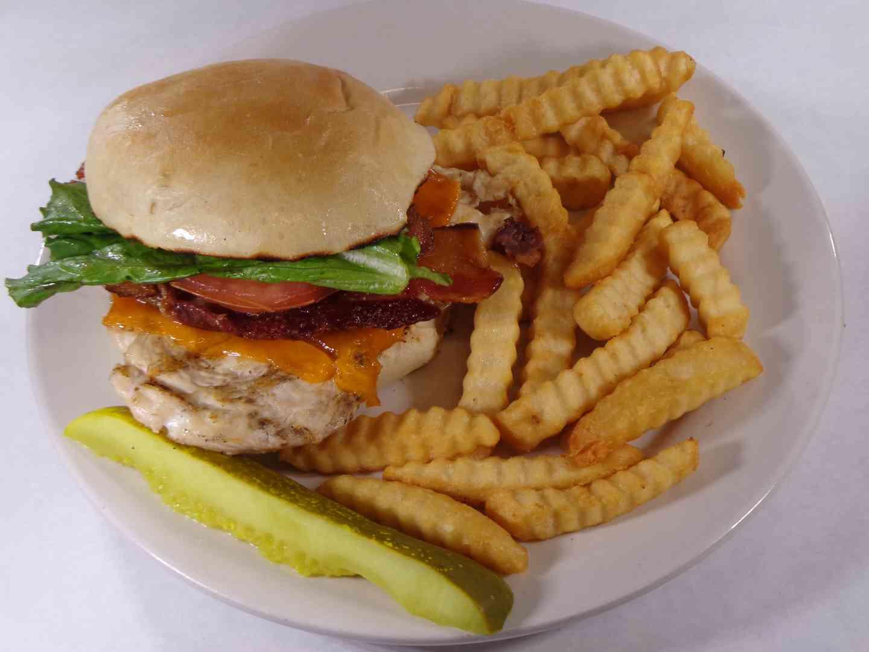 Bacon and Cheddar Chicken Sandwich
