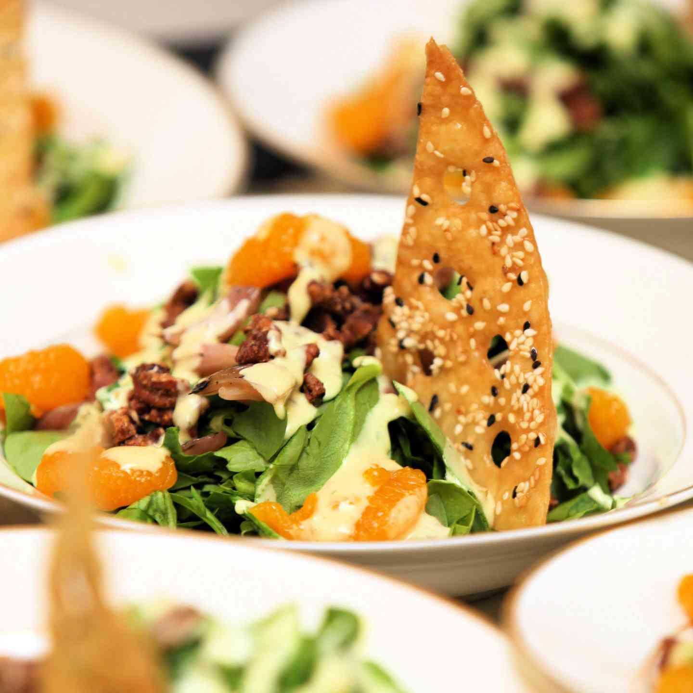 Mandarin Spinach Salad