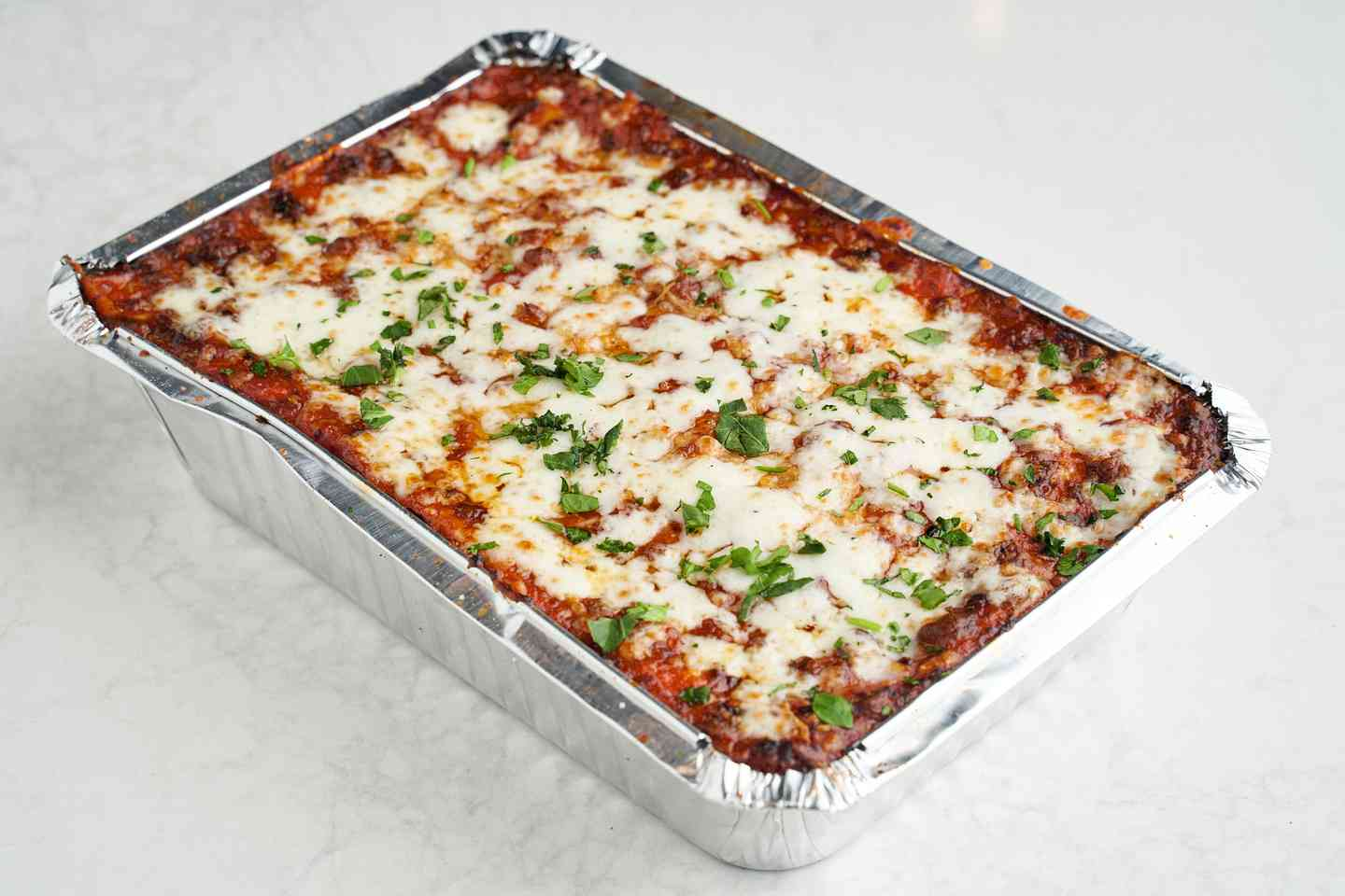 Take & Bake Lasagna with Marinara