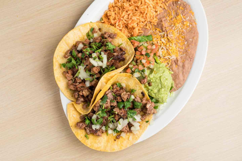 2 Taco Plate
