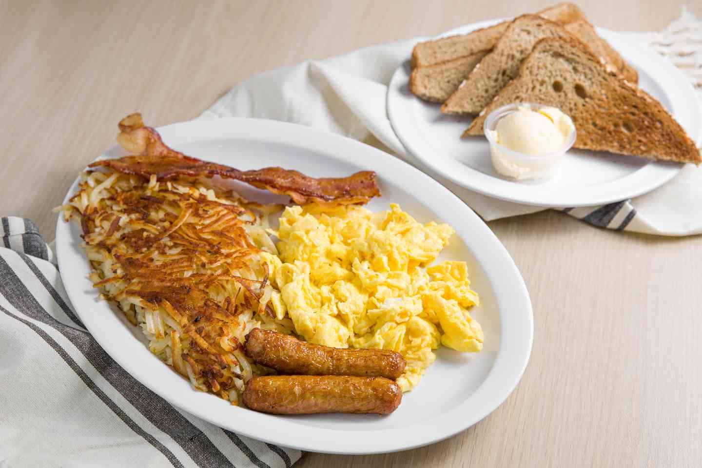 #2 3 Egg Plate*