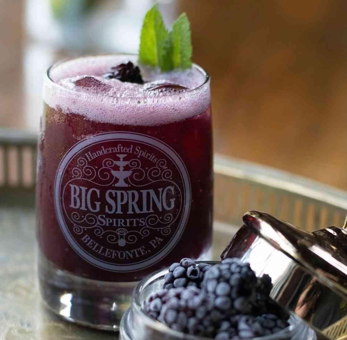 Blackberry Bourbon Smash