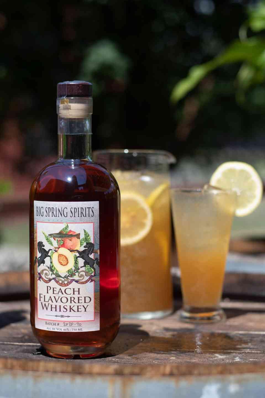 Peach Whiskey Palmer
