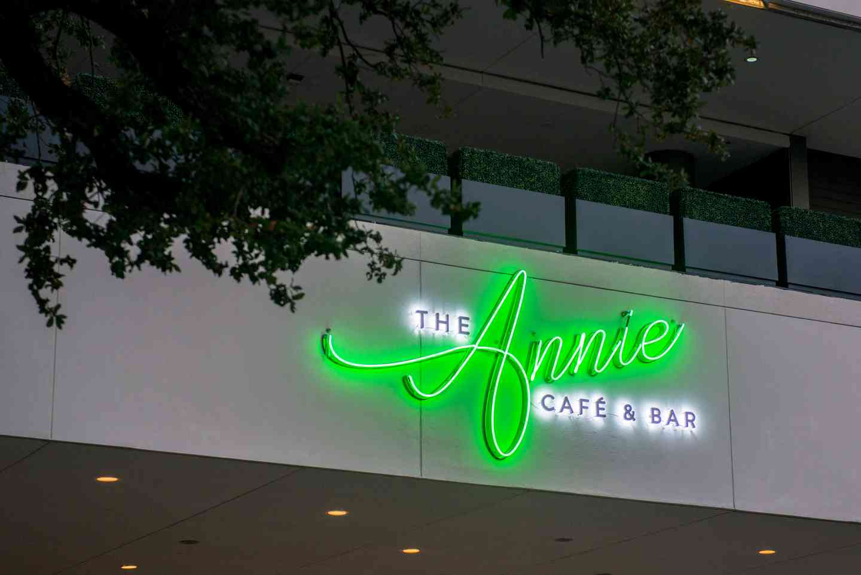 the annie sign