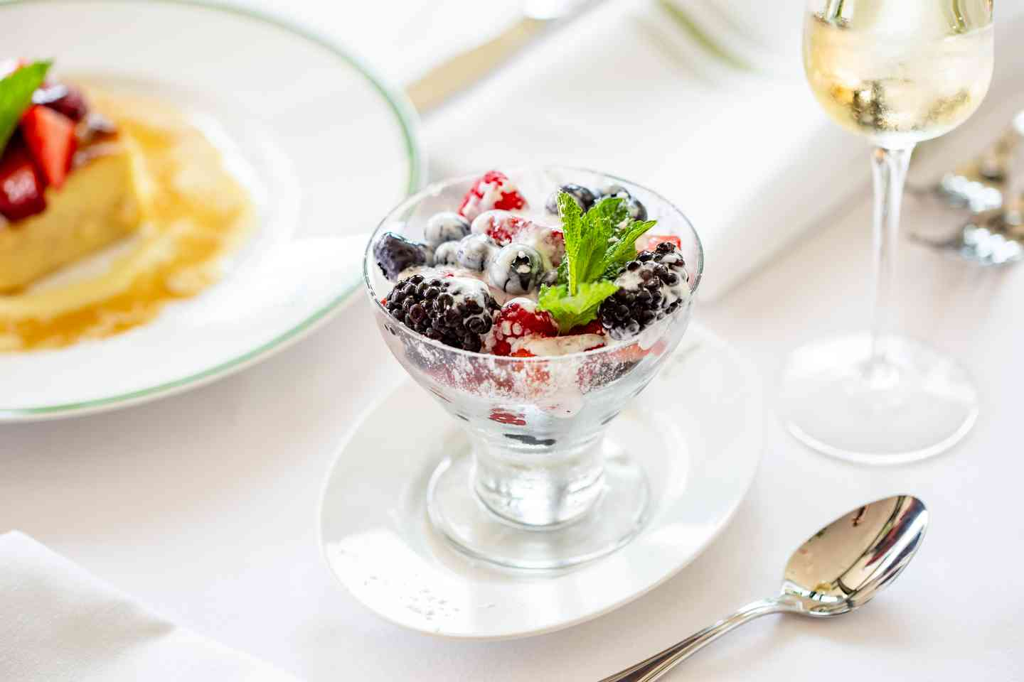fresh berry dessert