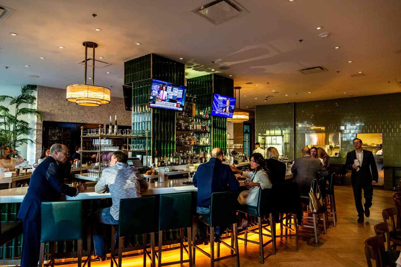 the bar at The Annie
