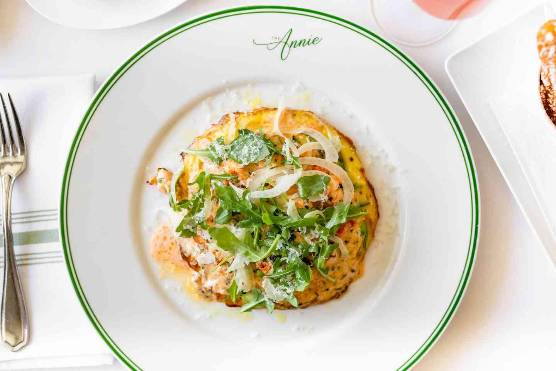 Lobster Open-Face Omelet