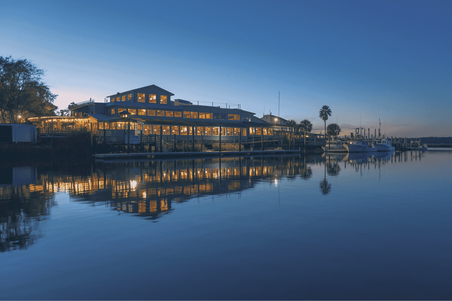 Waterfront Dining at Fish Dock Restaurant