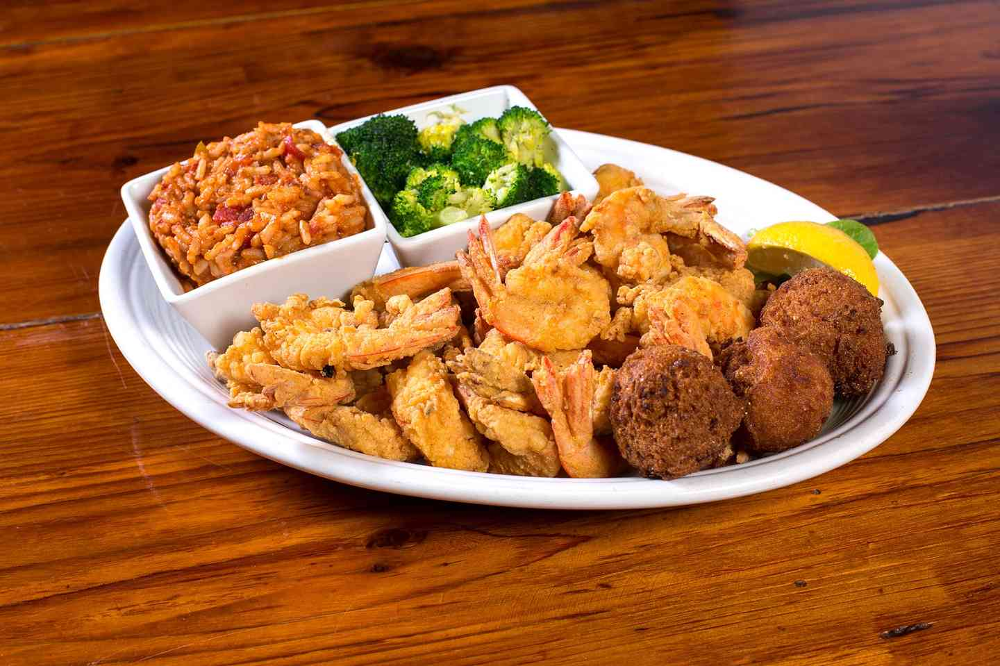 Captain's Shrimp Platter