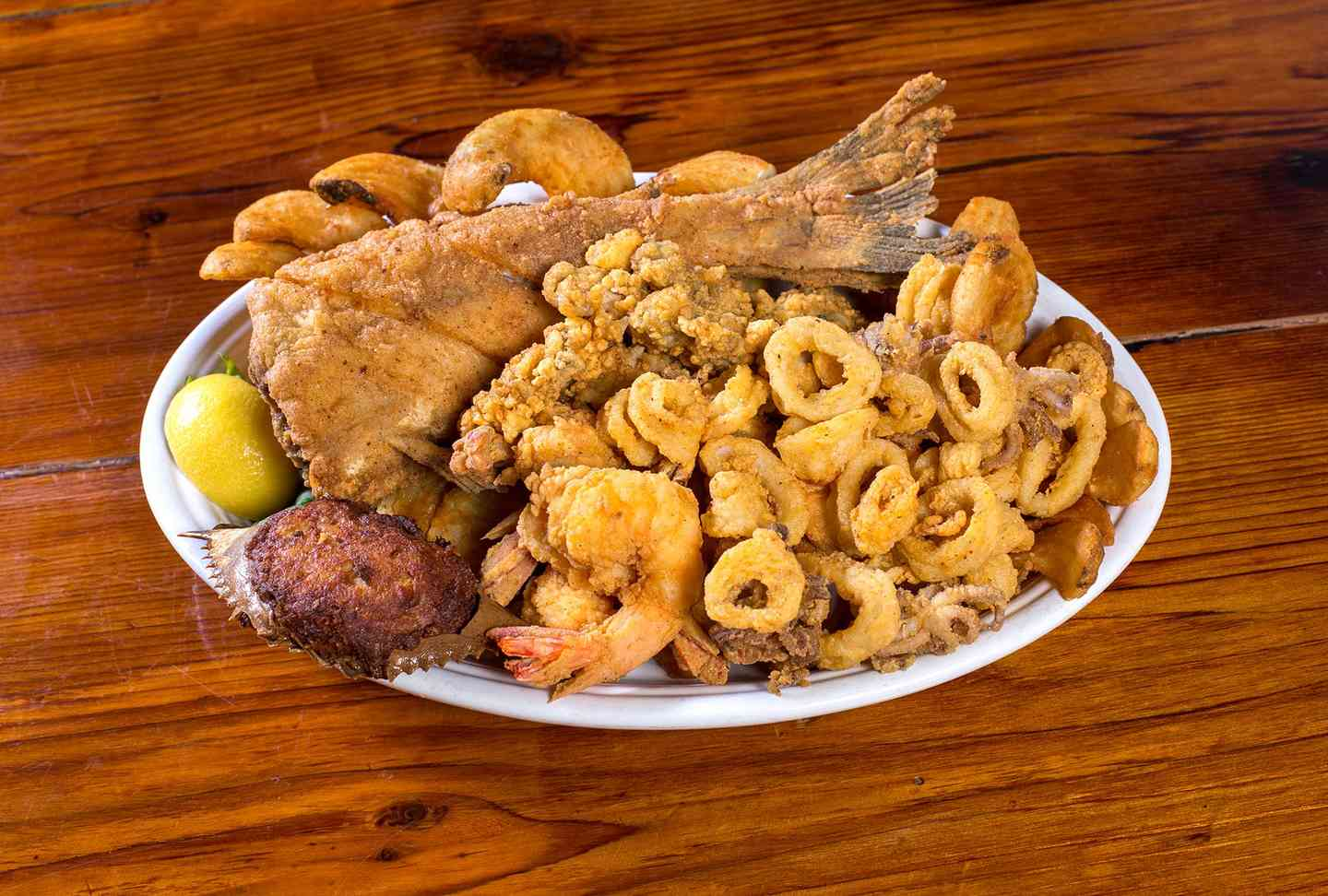 A Tour The River Seafood Platter