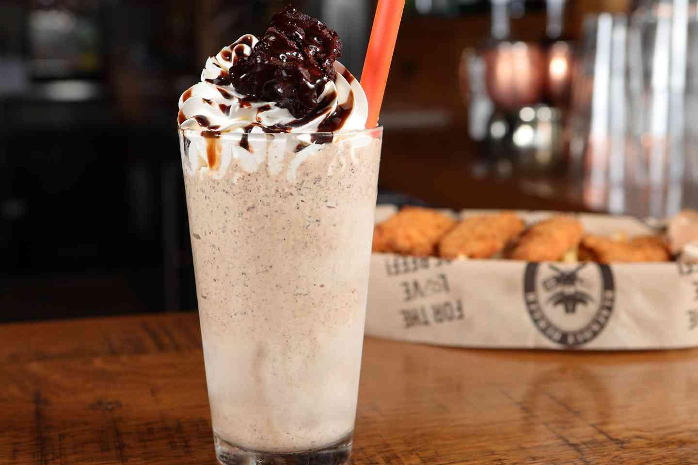 super fudge brownie shake