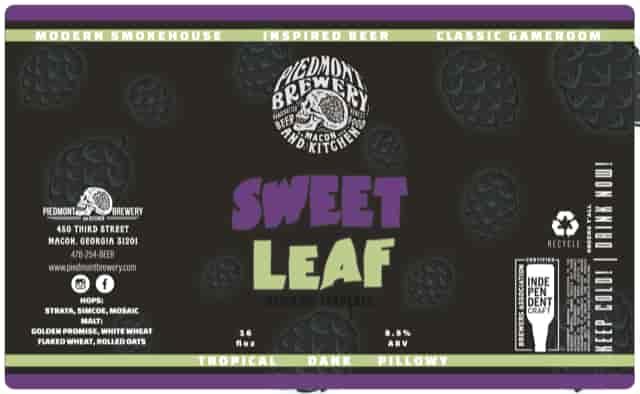 Sweet Leaf Double NEIPA w/ Hemp Terpenes