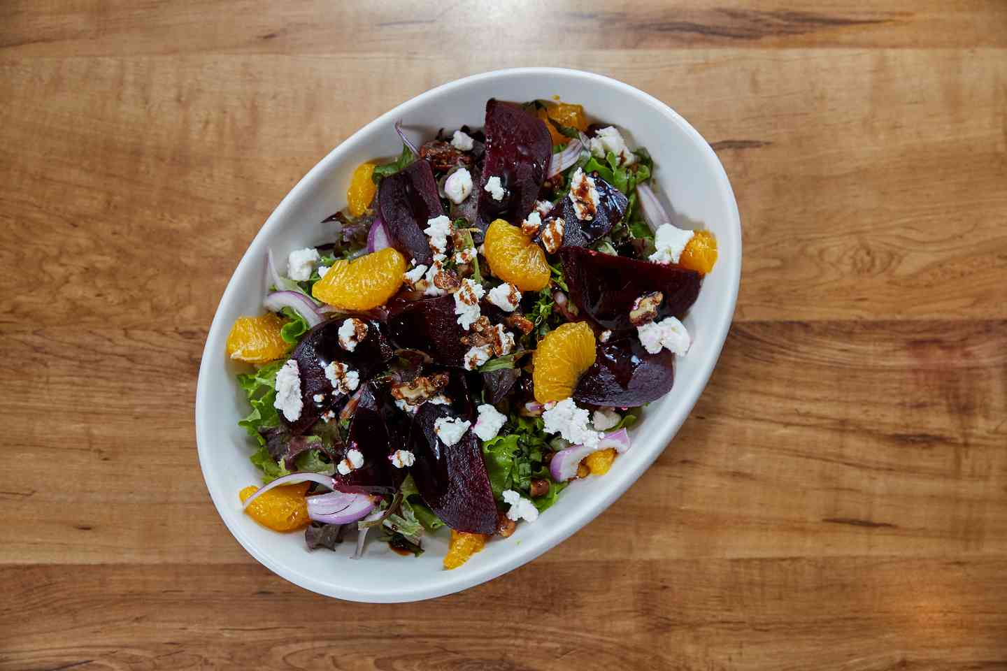 Roasted Beetroot and Goat Cheese Salad