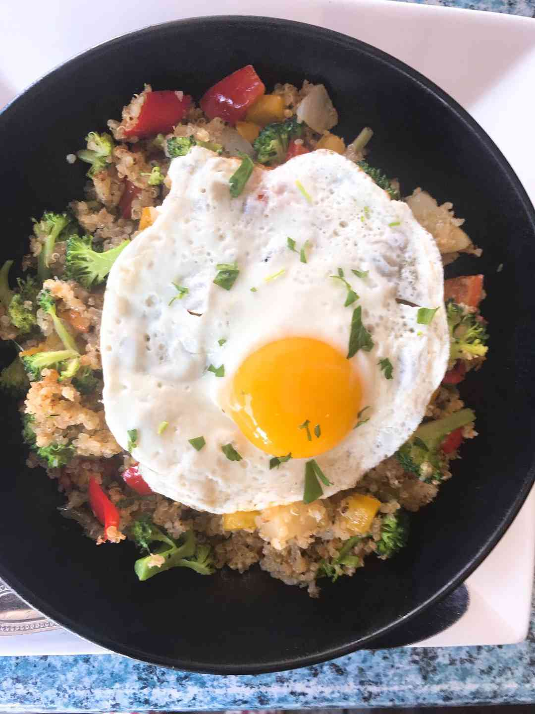 Quinoa and Egg Bowl
