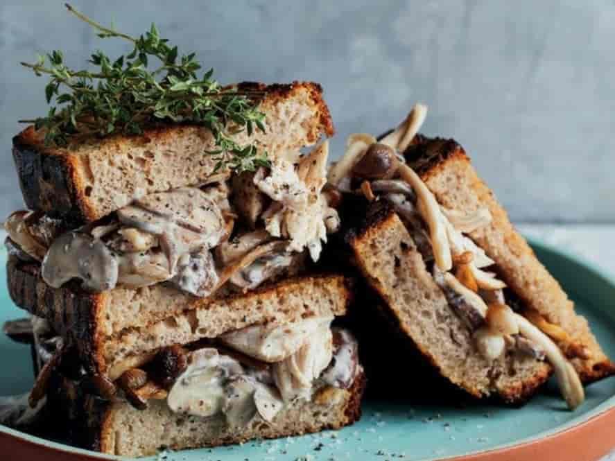 Chicken Mushroom Melt