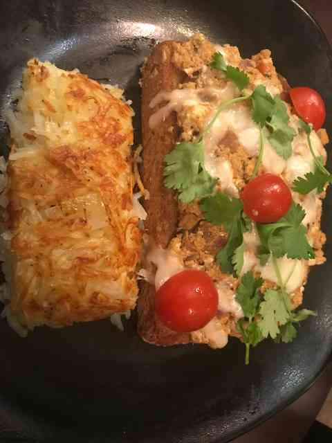 Masala Egg Toast