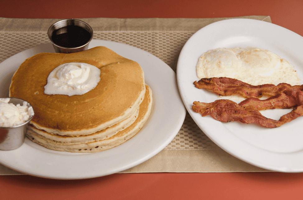 Three Gluten Free Pancakes