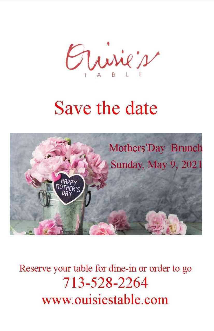 Mother's Day is around the corner, book your spot today.