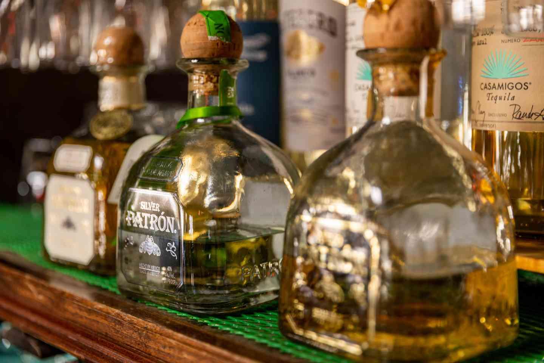 bottles of liquor