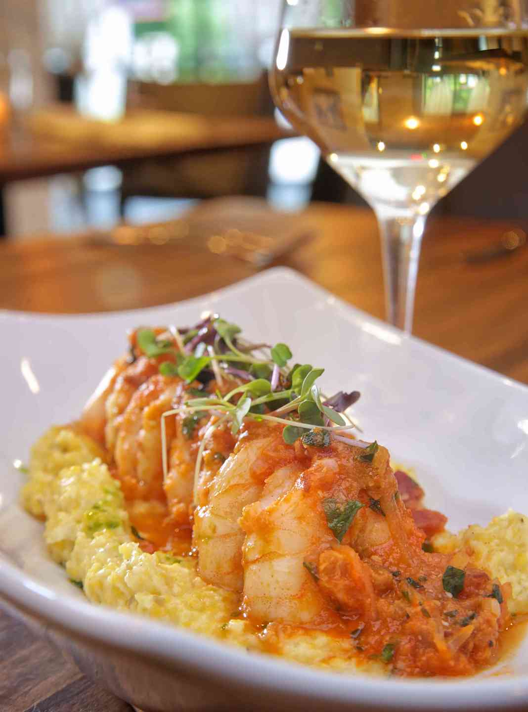 Coastal Shrimp & Grits