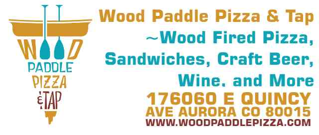 Wood Paddle Pizza & Tap Aurora (Quincy & Buckley) ~Wood Fired Pizza, Sandwiches, Craft Beer, Wine, and More~ 176060 E Quincy Ave Aurora CO 80015