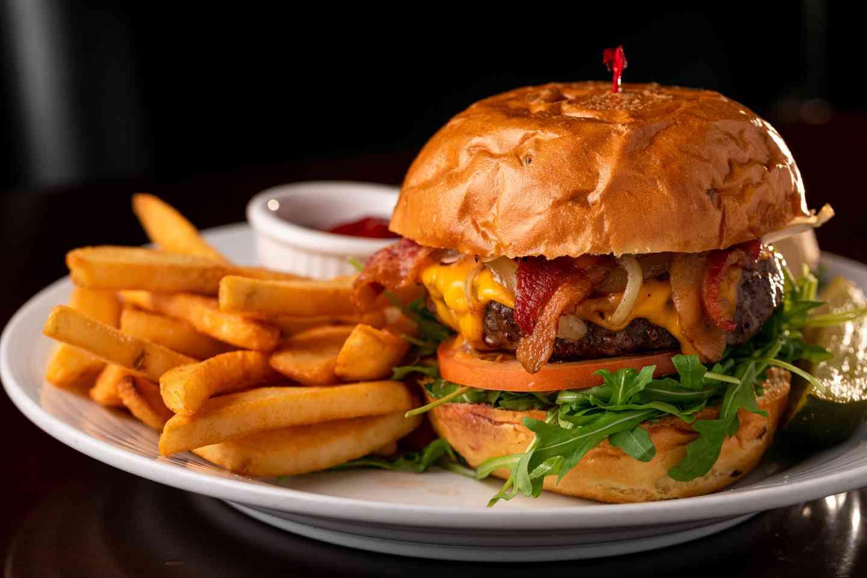 Kobe Bacon Cheeseburger