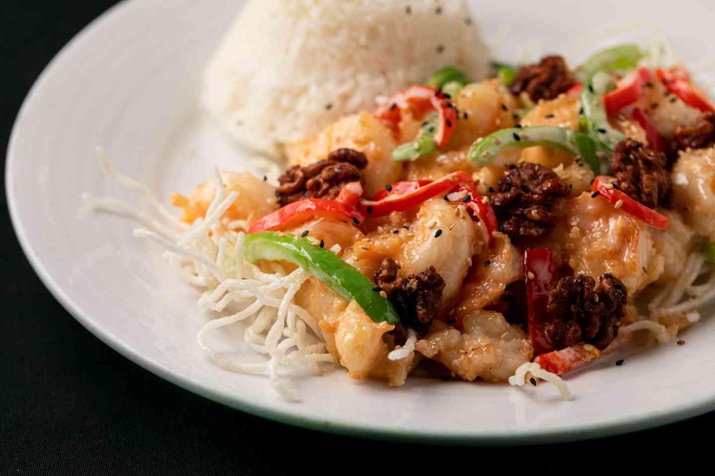 Honey Crispy Shrimp