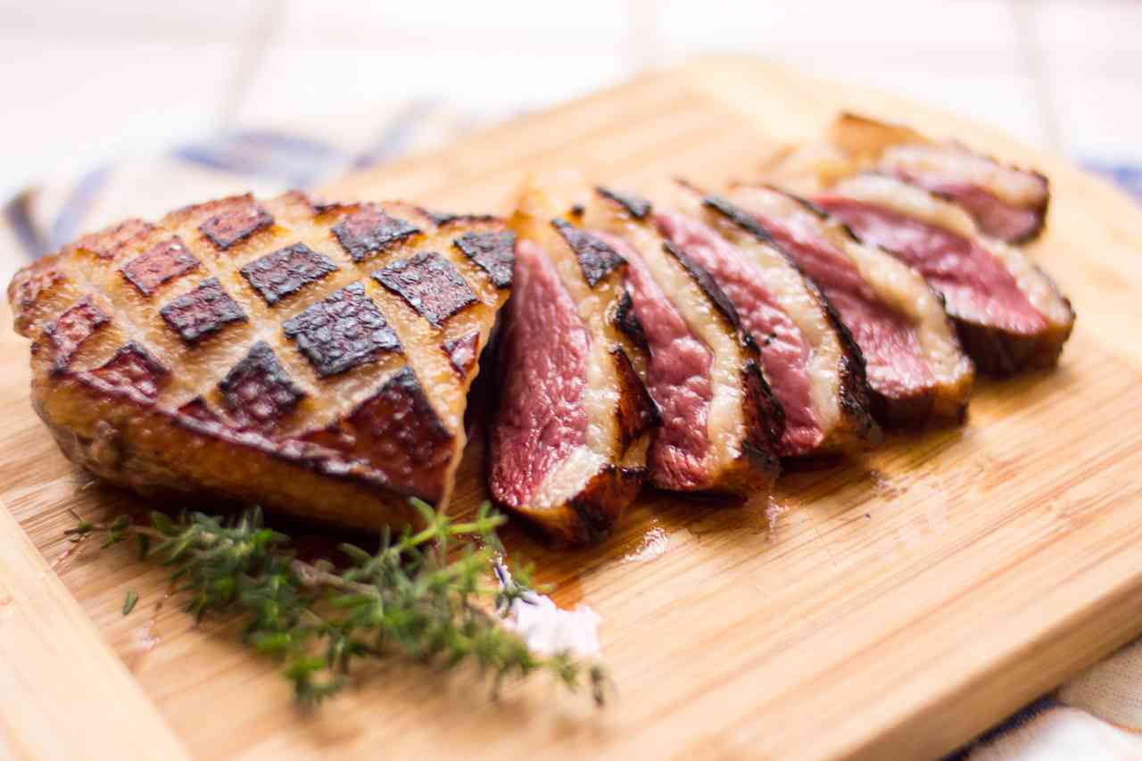 Magret Duck Breast Walnut Dinner for Two