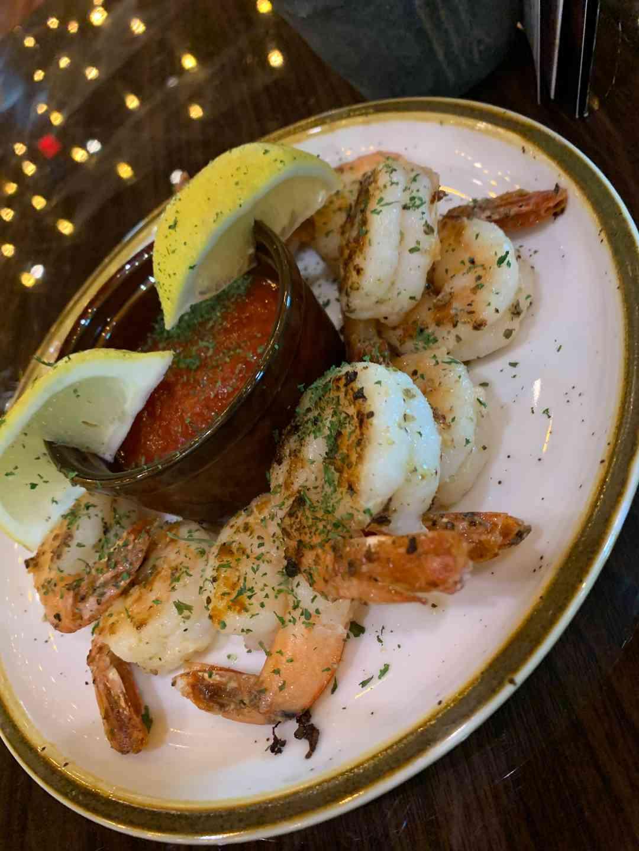 Grilled European Shrimp