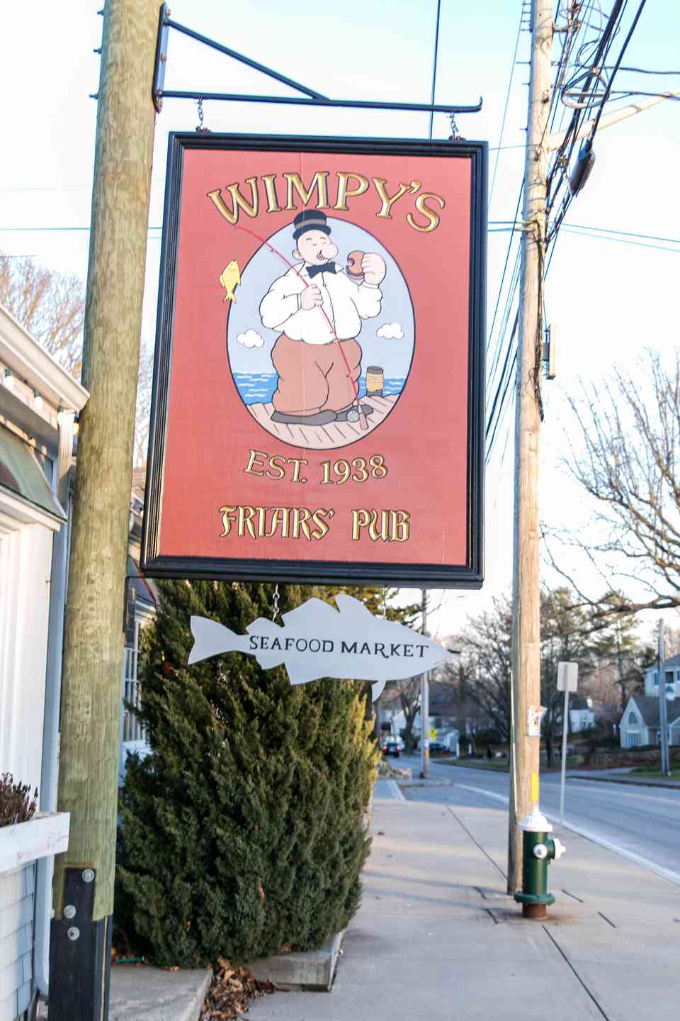 Wimpy's sign