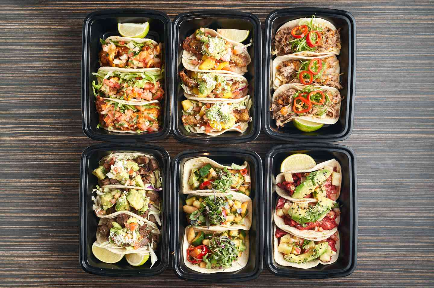 Best Tacos for Take Out and Delivery