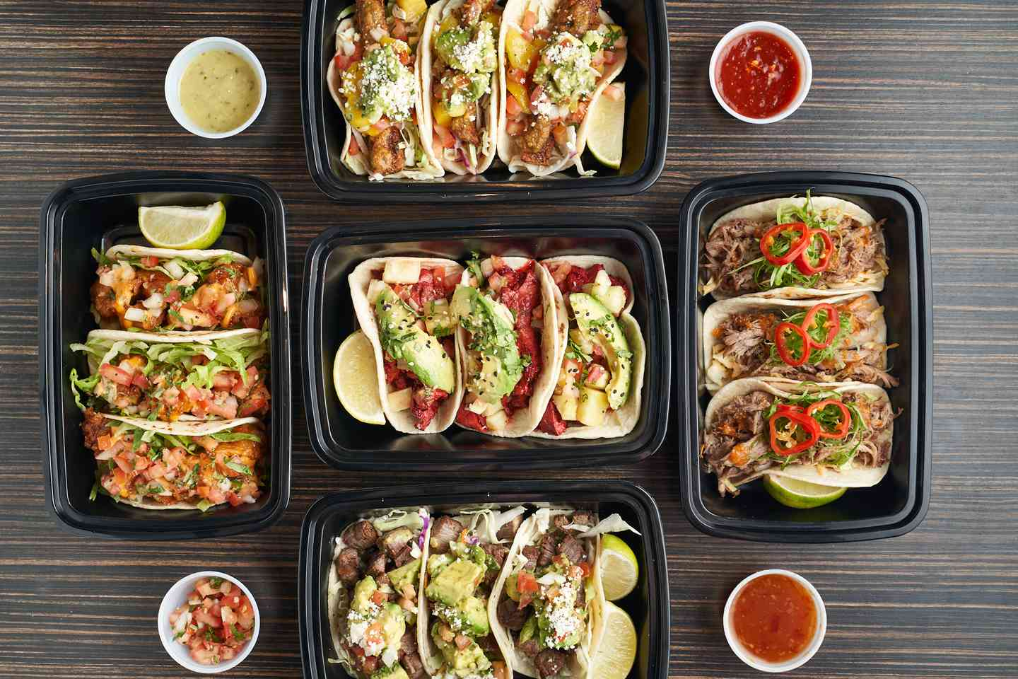 Delicious Street Tacos Available for Delivery