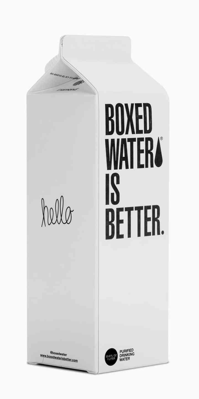 BOX WATER